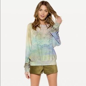 WILDFOX WITH YOU, WITHOUT YOU BAGGY BEACH JUMPER